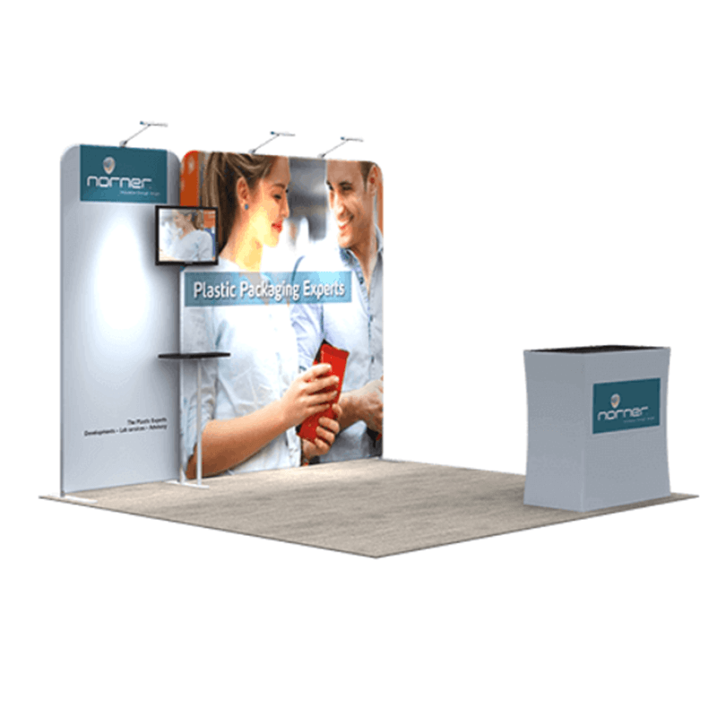 Modular Exhibition Stand Builders : Booth banner e c buy trade show display board modular