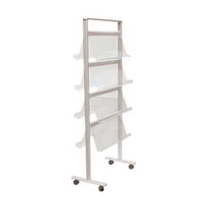 Mobile Literature Rack E07B11