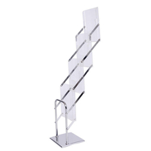 Portable Acrylic Brochure Holder E07B7