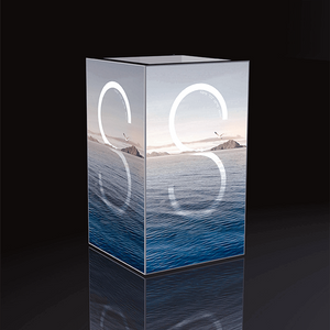 4 Sided Frameless Light Box E04C4