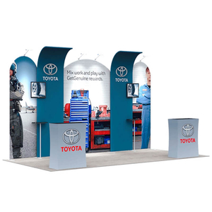 Innovative Trade Show Booths E01C2-25