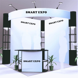 10ft*10ft Open-Surrounding Style Booth E01B8
