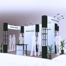 20ft*10ft Exhibition Booth Solution E01B6