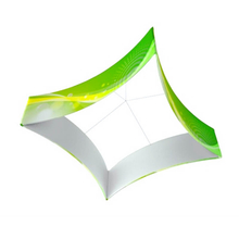 Curved Square Hanging Banner E03D8