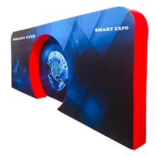 Concave Exhibition Display Backdrop E03G15