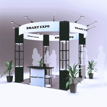 10ft*10ft Round Booth Solution E01B7