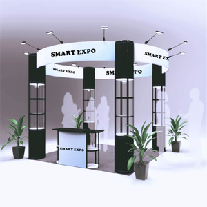 10ft*10ft Round Booth E01B7